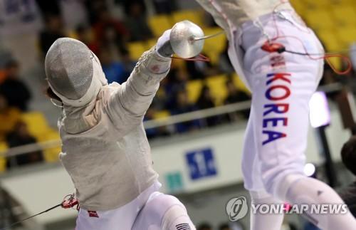 김지연 '정확한 공격'