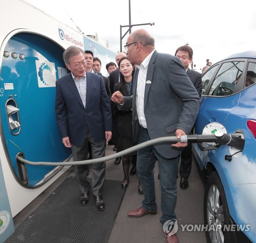 (Yonhap Feature) Hydrogen fuel cell vehicles gaining steam as zero-emission mobility option in S. Korea
