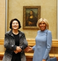 韓・フランス首脳夫人
