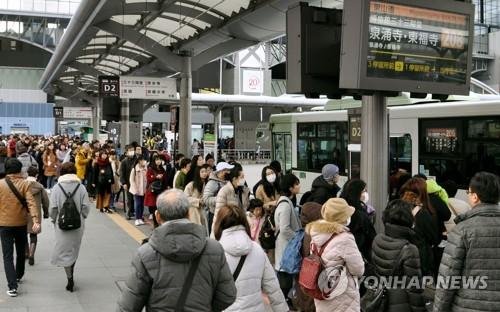 올해 일본 방문 외국인 3천만명 넘었다