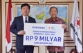 Samsung's donation for quake-hit Indonesia