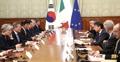 Korea-Italy summit