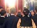 Couple présidentiel et Macron