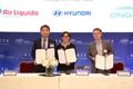 MoU Hyundai Motor-Air Liquide-Engie