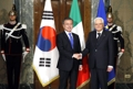 Avec le président italien