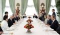 Almuerzo entre los líderes de Corea del Sur e Italia