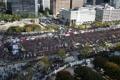 タクシー業界団体が大規模集会