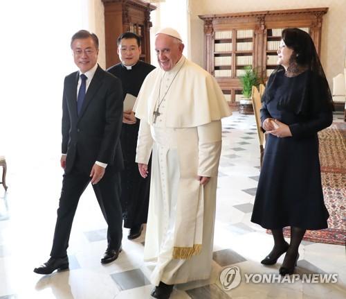 문대통령 유럽순방 종료…교황 방북 중재·대북제재 완화 공론화