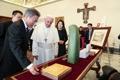 Cadeaux pour le pape