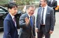 Moon attends ASEM summit (CR)
