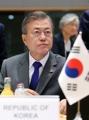 Moon attends ASEM summit
