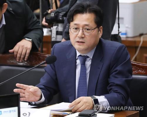 더불어민주당 홍익표 수석대변인  [연합뉴스 자료사진]