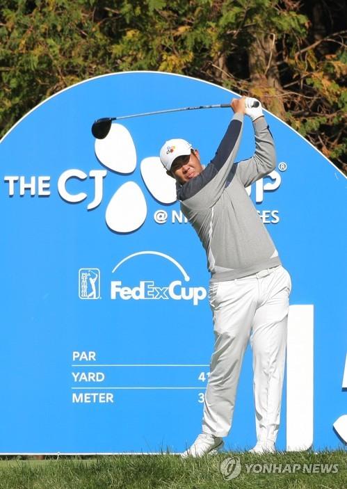 결혼 앞둔 안병훈, 호주 골프 대회에서 '홀인원' 행운