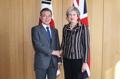 Cumbre Corea del Sur-Reino Unido