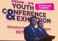 나란히 기조연설하는 남북한 대사
