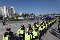 광주서 퀴어문화축제, 충돌 우려에 경찰 투입