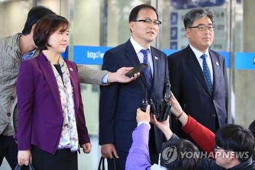 남북 산림협력회담 개성서 시작…공동방제 일정 등 논의