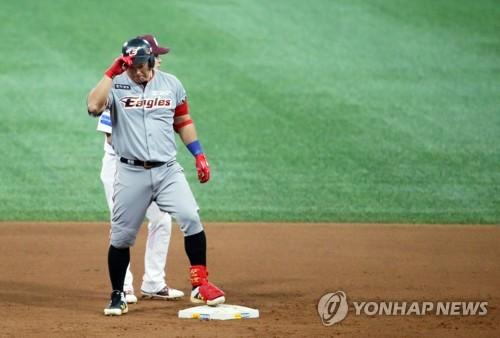 넥센 1번타자 김하성·한화 4번타자 김태균…4차전 빅뱅 예고(종합)