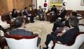 Avec la délégation du CSIS