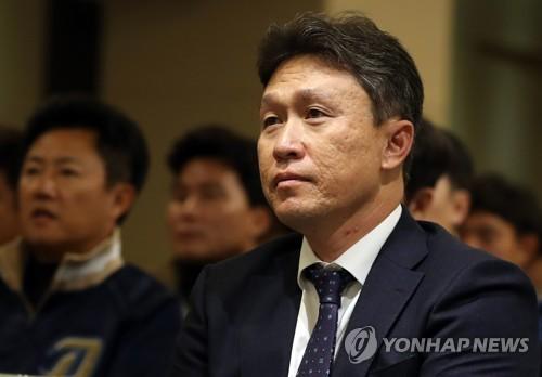 """이동욱 NC 감독 """"양의지라는 선물, 부담되지만 한번 해보겠다"""""""