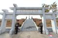 Cementerio remodelado para los voluntarios chinos en Corea del Norte