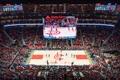 Ecrans de Samsung dans un stade d'une équipe de NBA