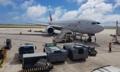Avion sud-coréen à Saipan