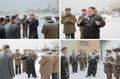 Inspection de Kim Jong-un