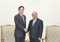 El sucesor de Samsung visita al primer ministro vietnamita