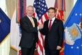 Jefes de Defensa de Corea del Sur y EE. UU.
