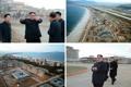 Kim Jong-un inspecte une zone touristique