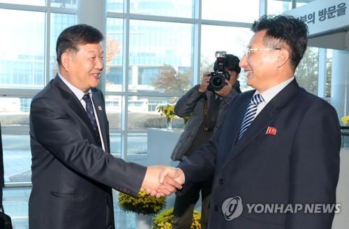 (LEAD) Nouvelle réunion sportive intercoréenne pour les JO de 2020 et 2032