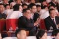 El líder norcoreano en una representación conjunta con China