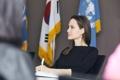 Angelina Jolie en Seúl