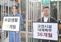 '징벌적 대체복무제 반대'