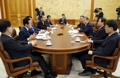 Reunión del presidente con los jefes parlamentarios de los partidos