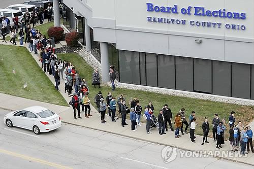 美중간선거 D데이…30세 미만 젊은층 조기투표 열기