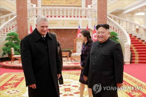 김정은-쿠바 지도자, 이틀째 면담