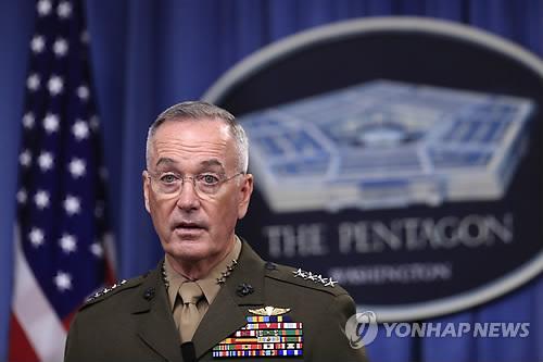 美합참 한반도 군사태세 축소 계획·검토하고 있지 않아
