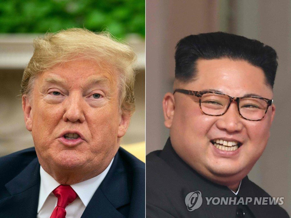 """트럼프 """"내년초 김정은과 2차 북미정상회담 개최"""""""