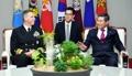 El ministro de Defensa con el jefe del Comando Indopacífico de EE. UU.