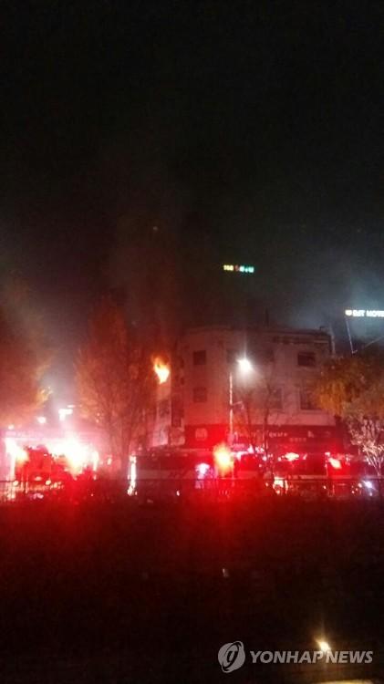종로 고시원에 불…6명 사망·12명 부상, 피해 늘듯