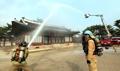 昌慶宮で消防訓練