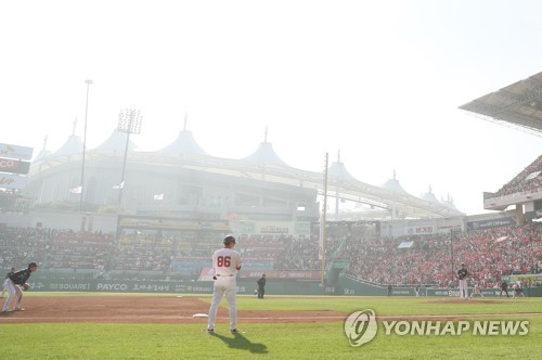 Baseball league to allow games to be cancelled under fine dust warnings