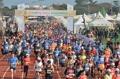済州で国際マラソン大会
