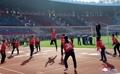 Competición deportiva de artistas en Corea del Norte