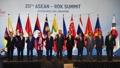 Moon y los líderes de la ASEAN