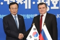 Ruling party chief meets Russian envoy