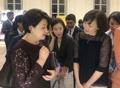 韓国大統領夫人と安倍首相夫人