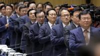 """與, 서울예산정책협의…박원순 """"복지지출 늘어…더 많은 지원을"""""""